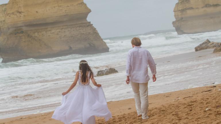 Vestido de Noiva do Brasil para Austrália